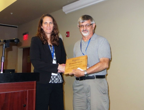 Sidney Herald editor receives distinguished service award